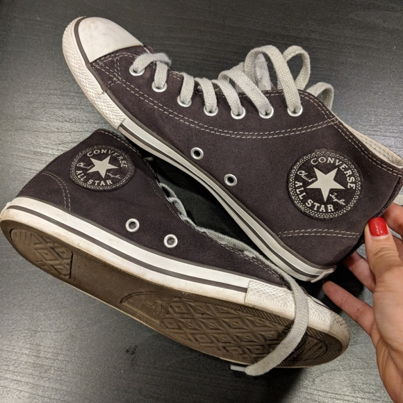 Suede Leather Chuck Taylor All Star High Tops